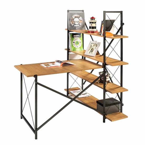 calisma-masasi-metal-ayaklı-kitaplıklı-ofb130