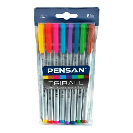 pensan-tukenmez-triball-1mm-renkli-8-adet